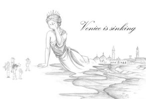 Venice is sinking by Zoeira