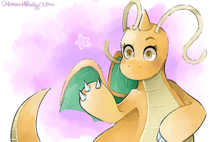 Dragonite by SketchBookOaP