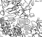 Digimon Savers storyboard pt 2 by BlueIke