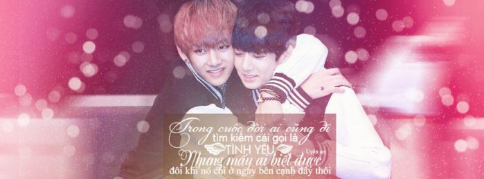 1402015 [Cover Face/Quotes] Vkook Couple by Uyenhunhan