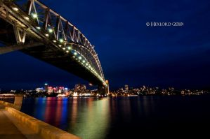 The Harbour Bridge by hexlord