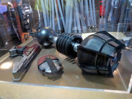 doctor who props and  sets cardiff daleks by Sceptre63