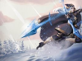 Riot Contest Ashe by AmandaKieferArt