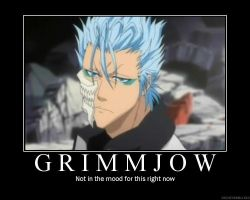 Grimmjow Demotivates You by mooniestar