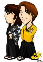 B'z in Hakama by samuka