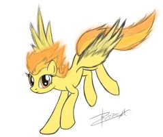 Spitfire by Xeirla