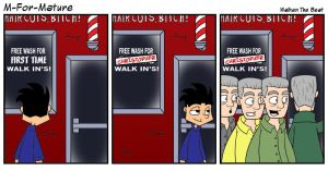 Walken The Beat by MFM-comics