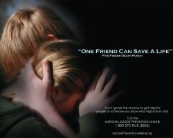 One Friend Can Save A Life by Konack1