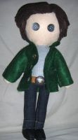 Sam Winchester plushie Supernatural by lincornell
