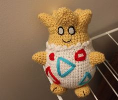 I made a Togepi for my Halloween costume! by Tessa4244