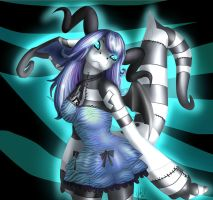 Meleuka Stitch Zebra dress by VanillaSwizzle