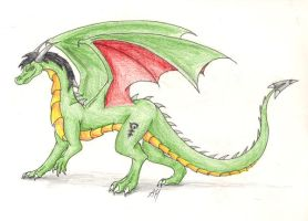 EGD's Dragon Form by WyvernFlames