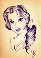 .::Belle::. by The-Pen-Freak
