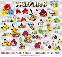 [RES]_ANGRY_BIRD_collect_by_Duyen by daothuyduyen