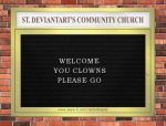 St. deviantART's Community Church by AirSharkSquad