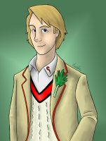 Fifth Doctor by Sherlockian