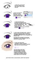Eye Coloring Tutorial by burnedbacon