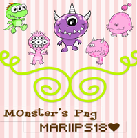 MonstersPng ByMariiPs18 by MariiPs18