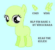 My Little Pony Friendship is Magic Base 4 by winxchara