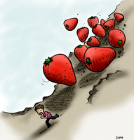Strawberry Avalanche_coloured by dongpeiyen1000