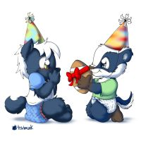 Bday Wolf by Tavi-Munk