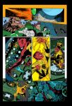 Green Lantern Sample Page 2 - Flats by nocturnalgeek10