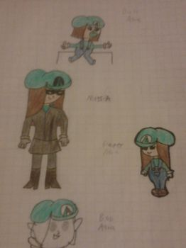 Aqua's Other Forms by alicialisseth