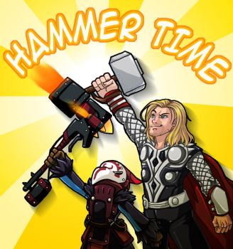 Hammer Time! by CoolBlueX