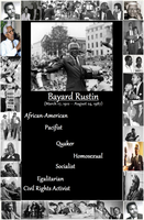 Seven Words: Bayard Rustin-Plain by AtheosEmanon