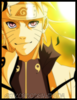 I am Naruto Uzumaki ! - Color by nikocopado