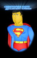 Christopher Reeve as Superman by CaptainBarringer