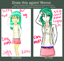 Before and After meme FML MAX by Chii-akii
