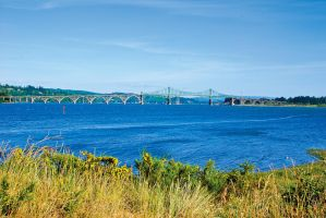 Conde McCullough Memorial Bridge by quintmckown