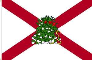 Alabama 'Touch Me Not' State Flag Proposal by DesertStormVet