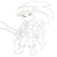 Sonic as Ike by Death-Driver-5000