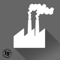 Design Every Day in December - Day 15 - Factory by deebeeArt
