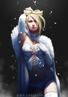 Emma Frost by SourAcid