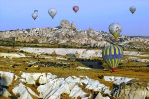 Balloons over Cappadocia 6 by CitizenFresh