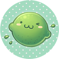Lime Button Commission by wangqr