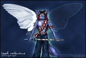 Seph - One Winged Angel 2004 by violetomega