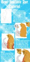 SemiRealistic Fur Tutorial by xToulax