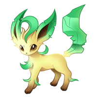 Pokemon 470 - Leafeon by illustrationoverdose