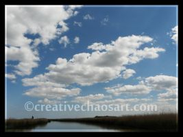 Clouds on the Broads by bicyclegasoline