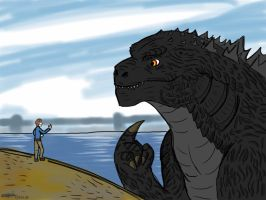 The Director and the King of Monsters by createandshow0407