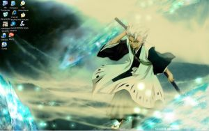 Toshiro Hitsugaya Background by RikuLoverKH2
