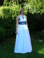 Yuna-Inspired Prom Gown by ShellMinded