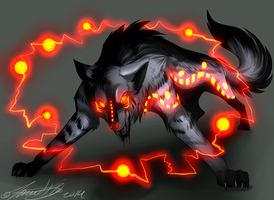 Blackfanged wolf concept? by animaldeathnote
