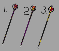 Aci's Staff Redesign Color Options by Cookie96