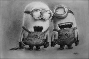 Minions - Bottom by qqClare