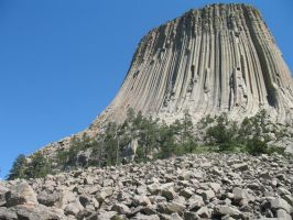 Devils Tower by OharaDemon